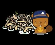 big-brown-beaver-lodge-icon
